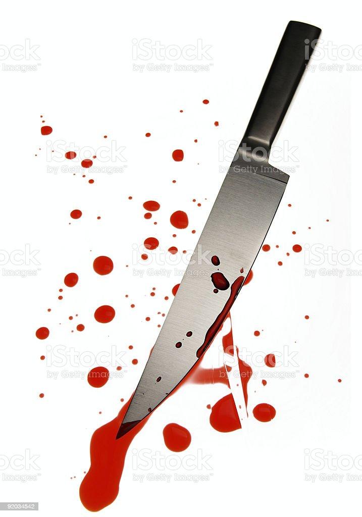 Krwawy Nóż zbiór zdjęć royalty-free