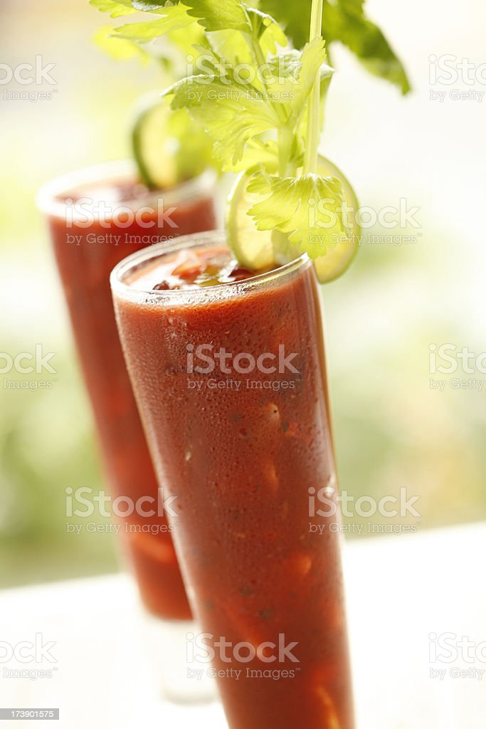Bloody Mary's royalty-free stock photo