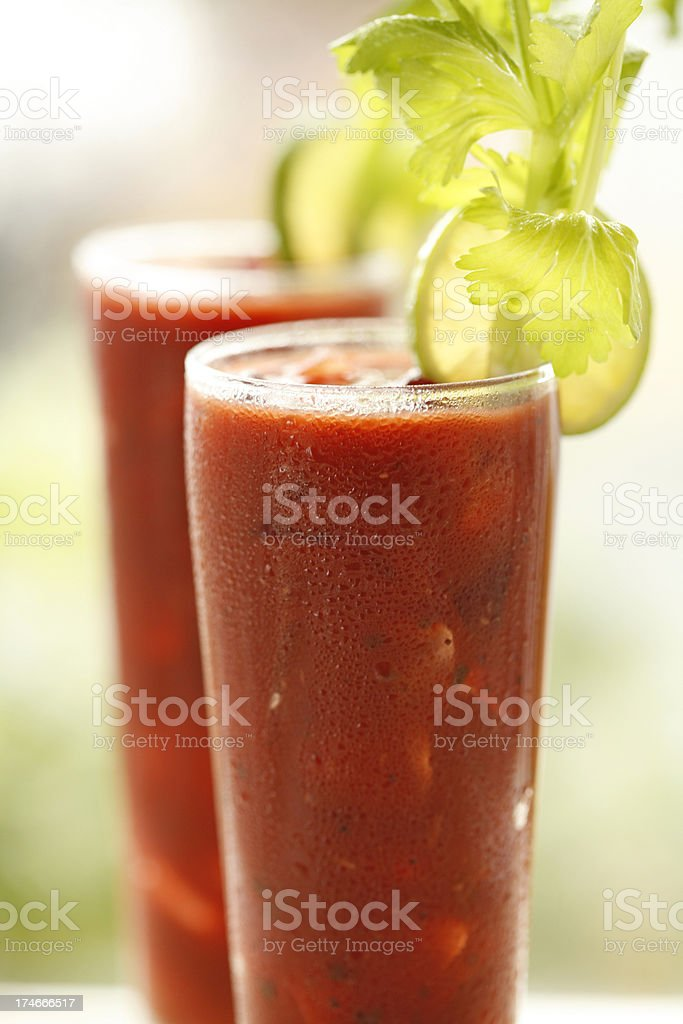 Bloody Mary's stock photo