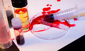 Bloody Mess - Laboratory Accident