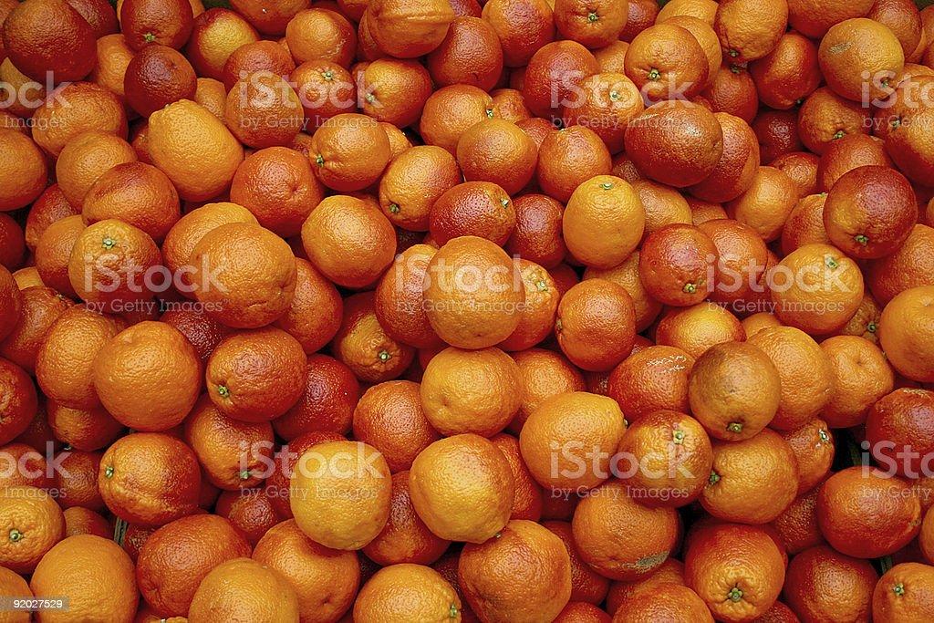 Bloody oranges royalty-free stock photo
