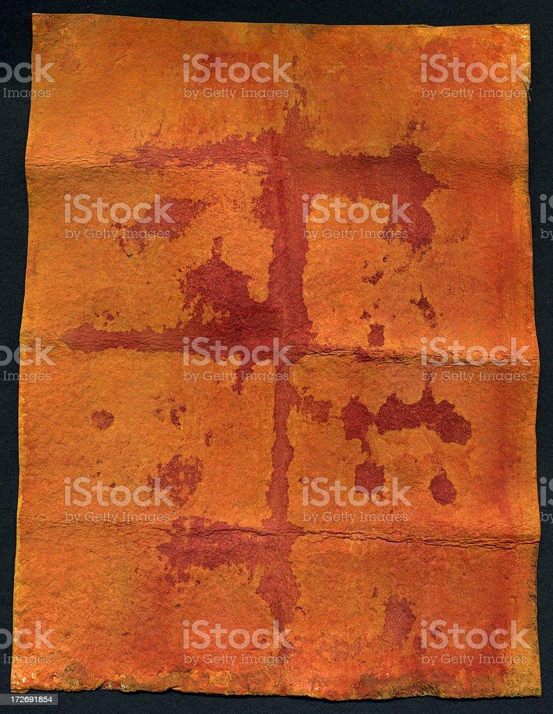 Bloody Peach royalty-free stock photo
