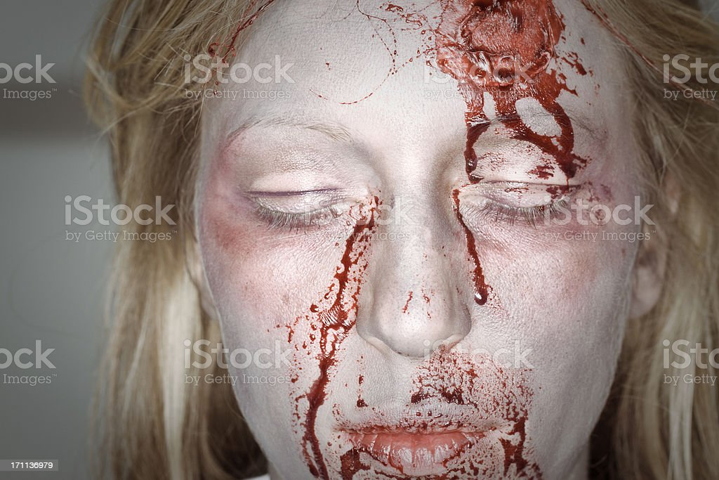 bloody stock photo
