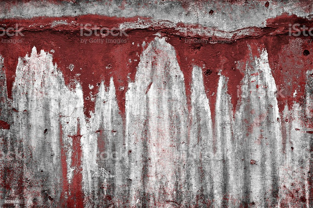 Bloody Wall stock photo