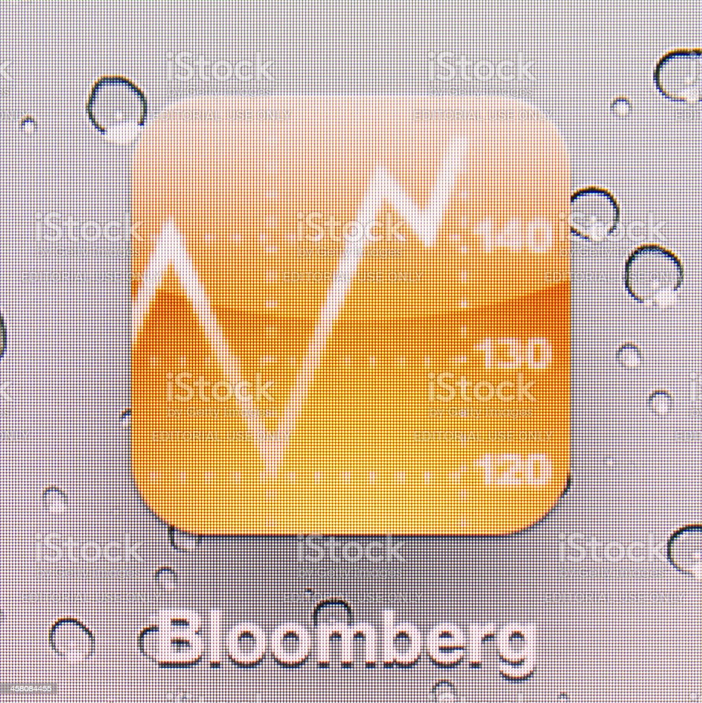 Bloomberg. royalty-free stock photo