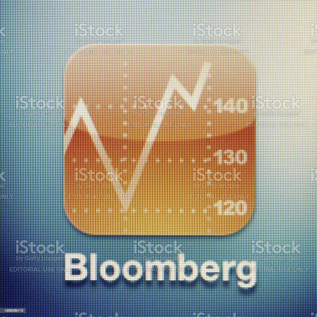 Bloomberg royalty-free stock photo