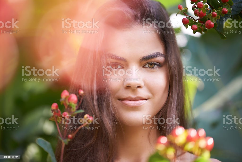 Blooming beauty stock photo