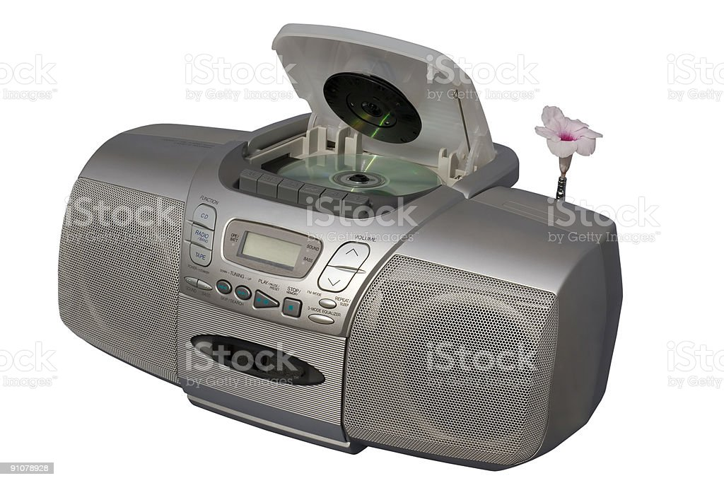 Blooming Music royalty-free stock photo