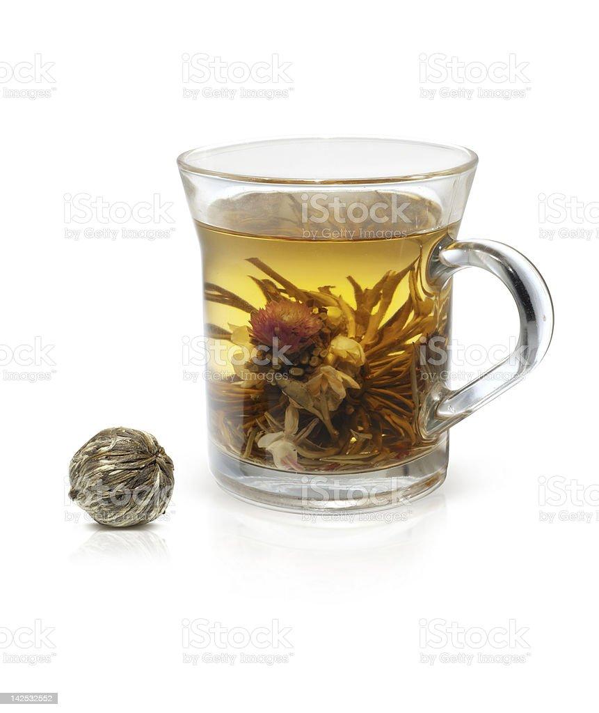 Blooming Tea royalty-free stock photo