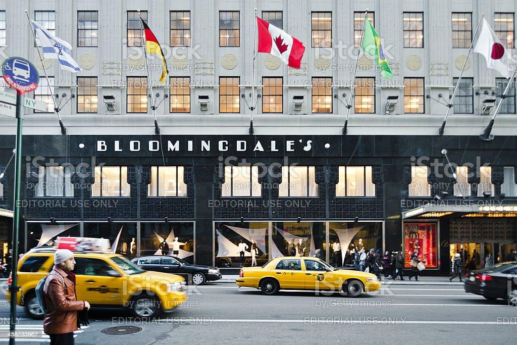 Bloomingdale's Department Store, Upper East Side, Manhattan stock photo