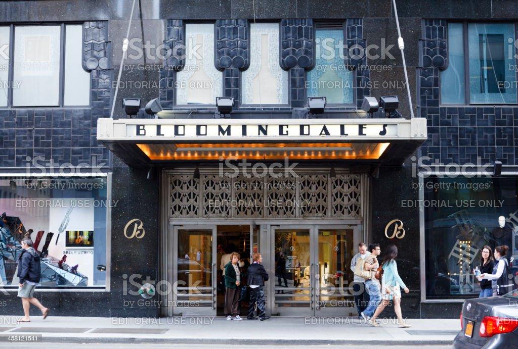 Bloomingdale's Manhattan stock photo