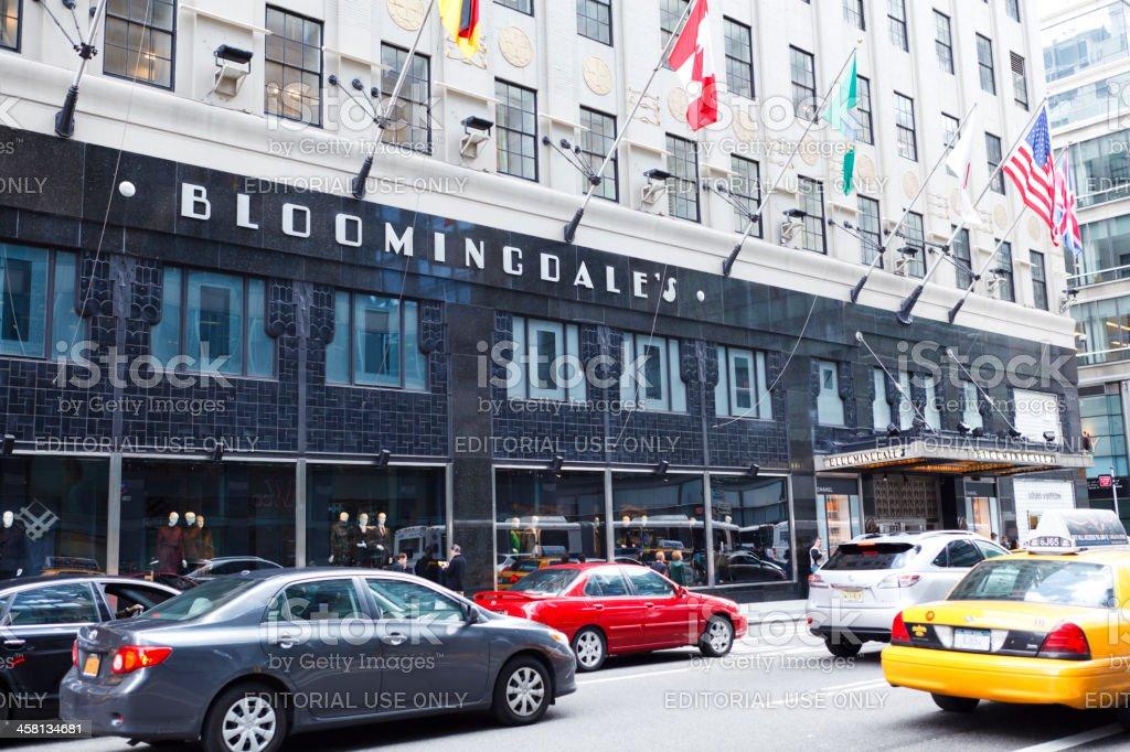Bloomingdale's New York City stock photo