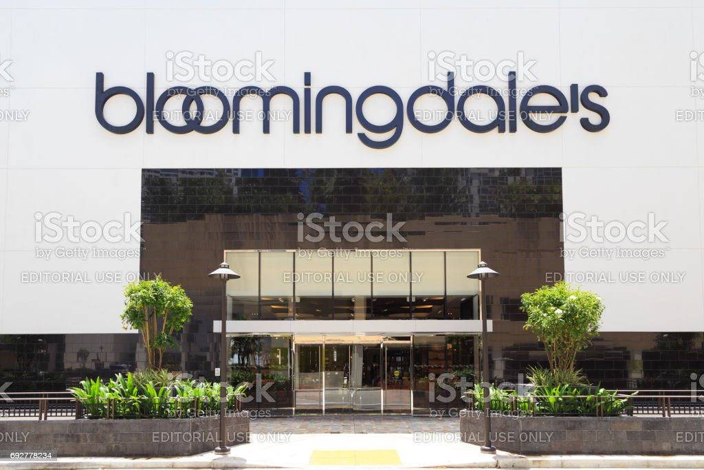 Bloomingdale's stock photo