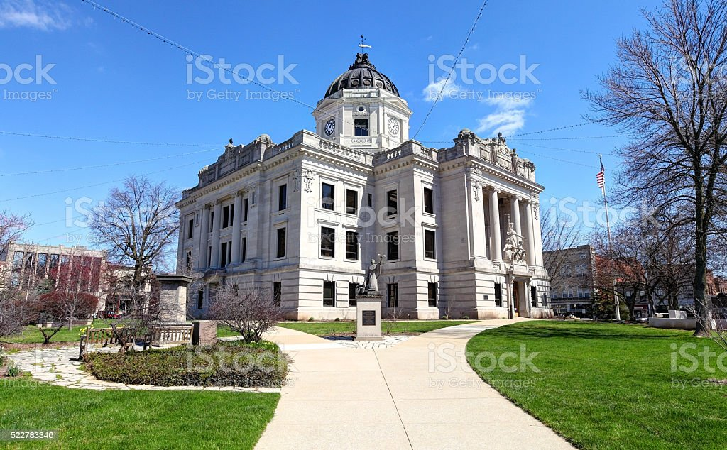 Bloomington indiana stock photo