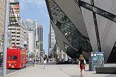 Bloor Street in Bay Street Corridor, Toronto, Ontario Canada, Summer