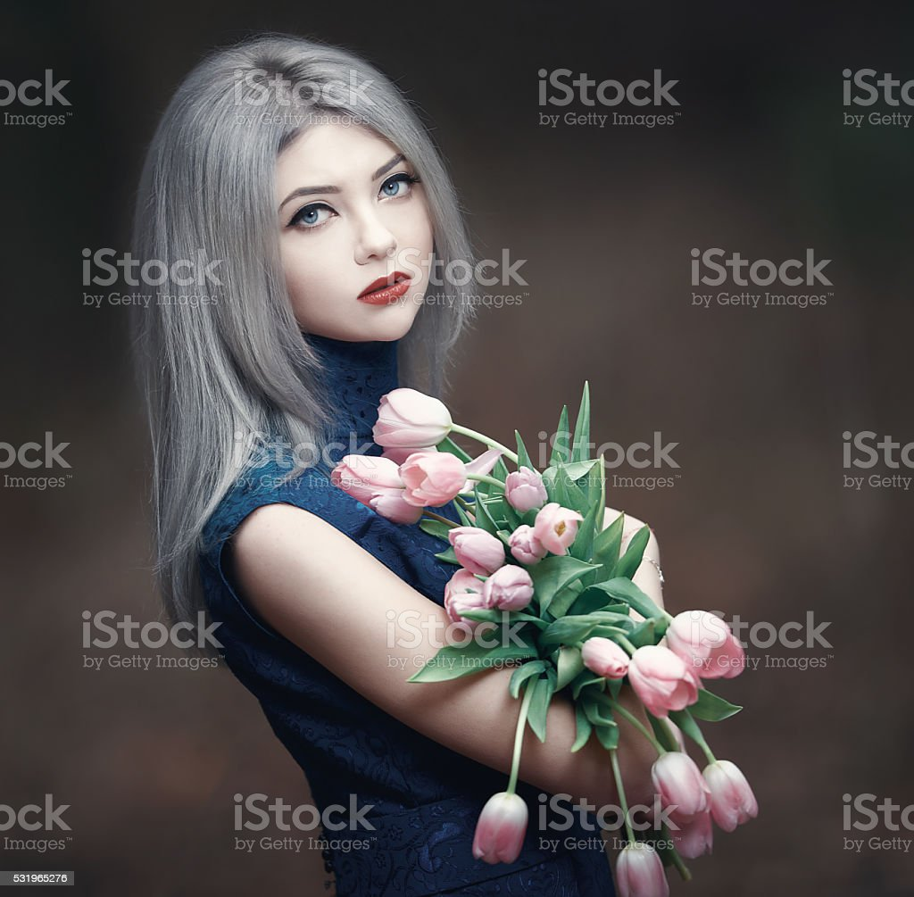 blossom spring feelings in my soul stock photo