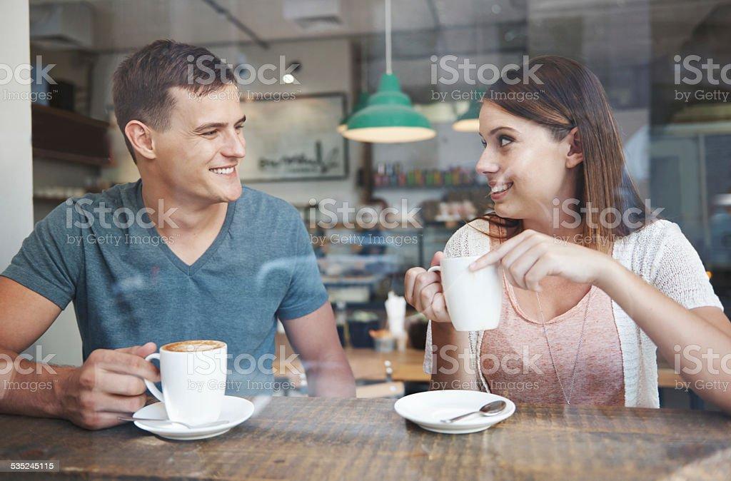 Blossoming romance stock photo