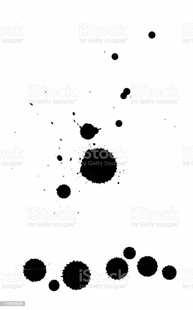 blots royalty-free stock photo