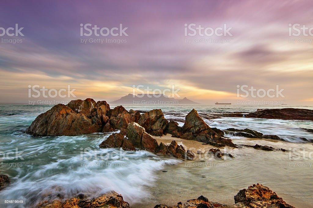Blouberg Beach stock photo