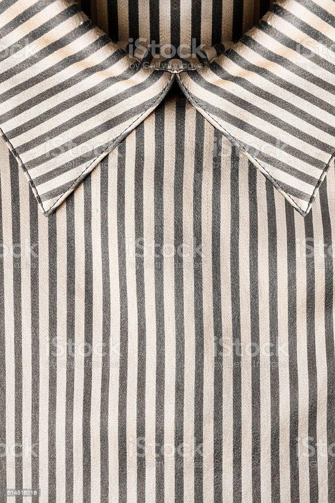 Blouse collar closeup stock photo
