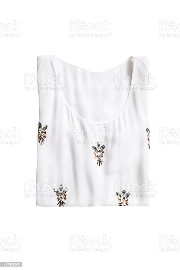 blouse isolated stock photo