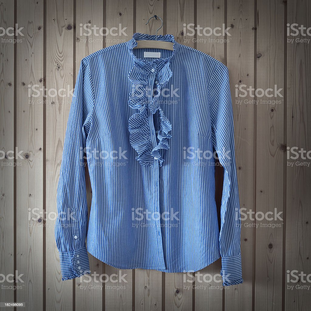 Blouse With Stripes stock photo