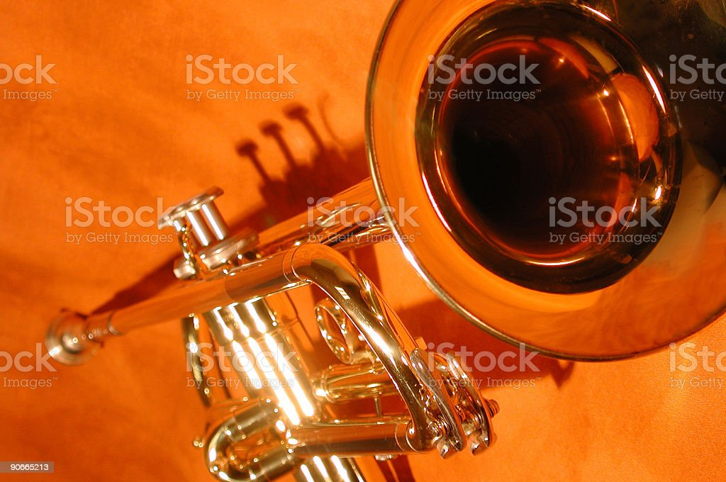 blow my horn2 royalty-free stock photo