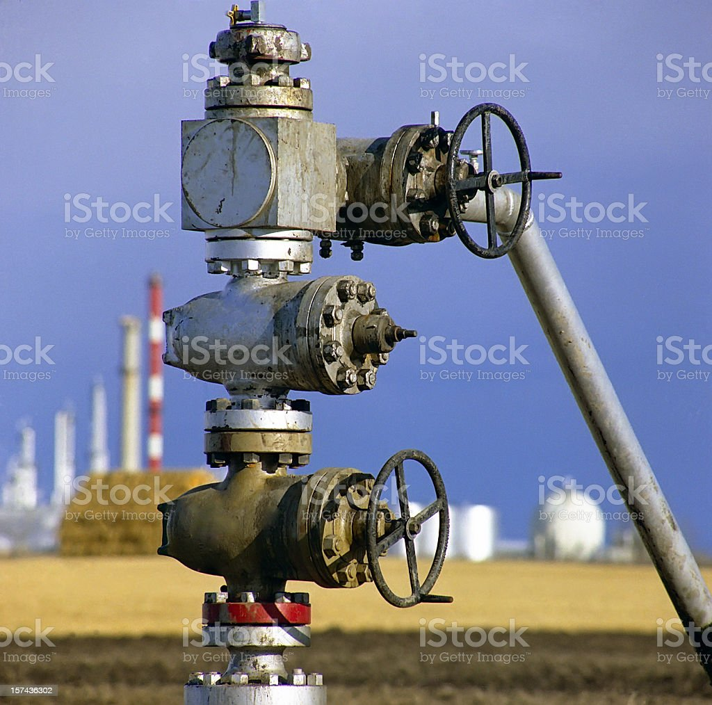Blow Out Preventer Valve royalty-free stock photo