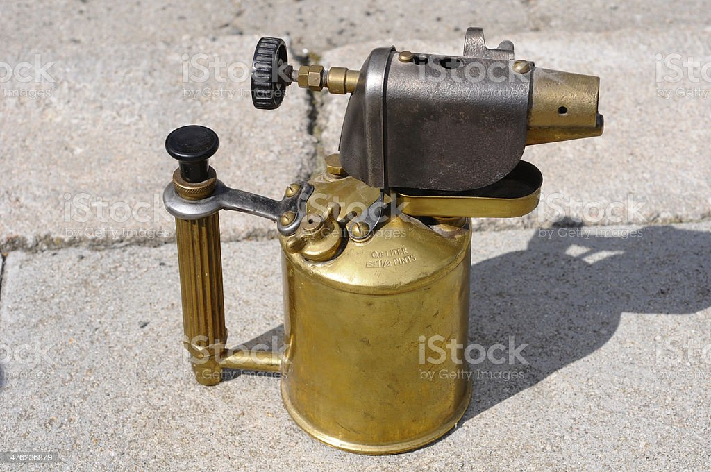 Blow Torch, royalty-free stock photo