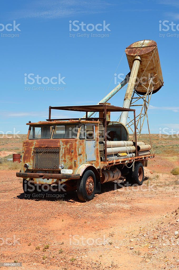 Blower in Outback stock photo