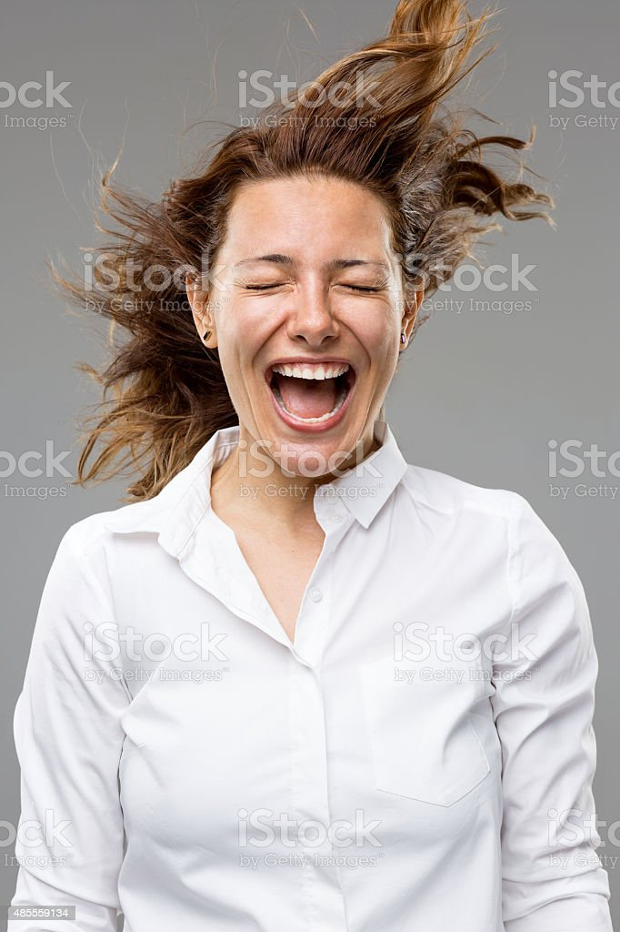 Blowing stock photo
