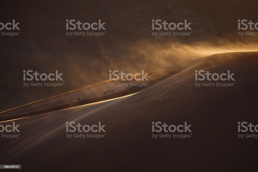 blown off the top royalty-free stock photo