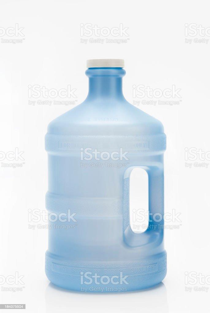 Blue 1 Gallon Water Jug royalty-free stock photo