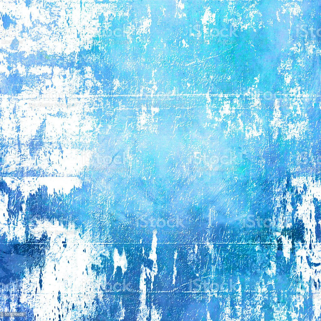 Blue abstract artistic background stock photo