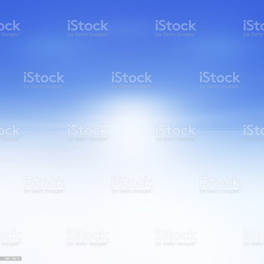 Blue abstract background with white spot light royalty-free stock photo