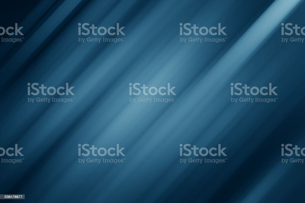 Blue abstract blurred motion stock photo