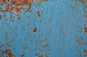 blue abstract grunge background, old metal background