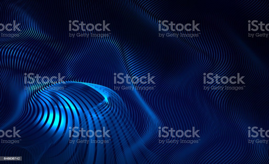 blue abstract modern background stock photo