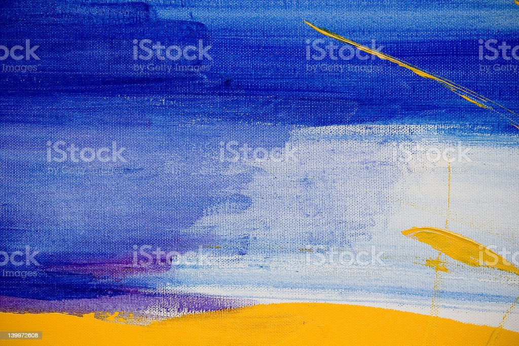 Blue Abstract No.2 royalty-free stock photo