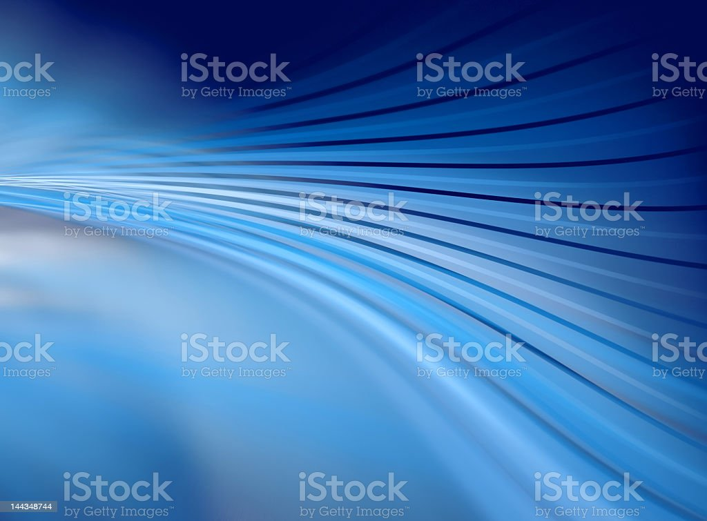 Blue Abstract XVI - wave stock photo