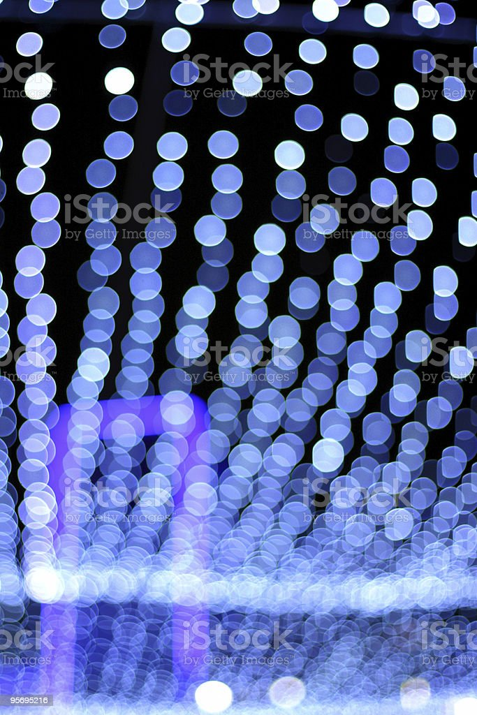 Blue Abstraction royalty-free stock photo