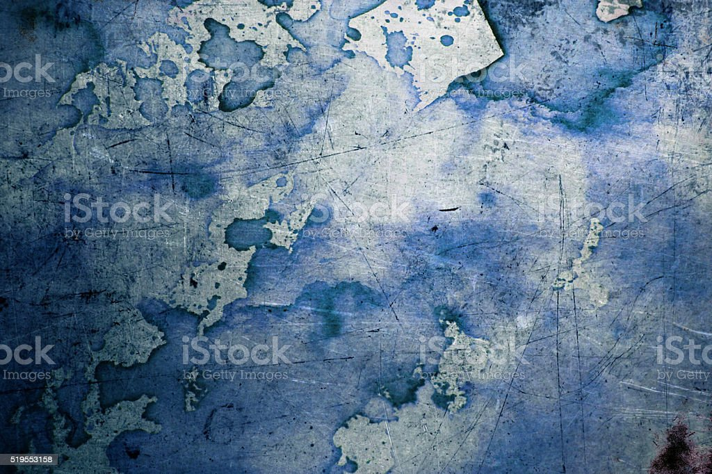 Blue abstruse background stock photo