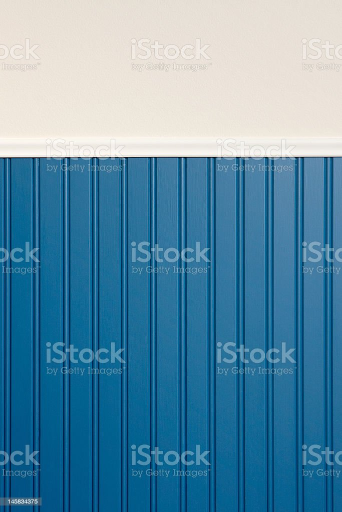 Blue and Beige Wall stock photo