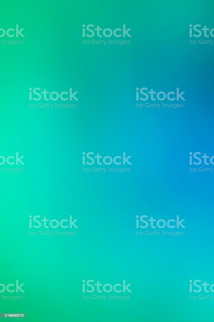 Blue and green Abstract winter background soft blur stock photo