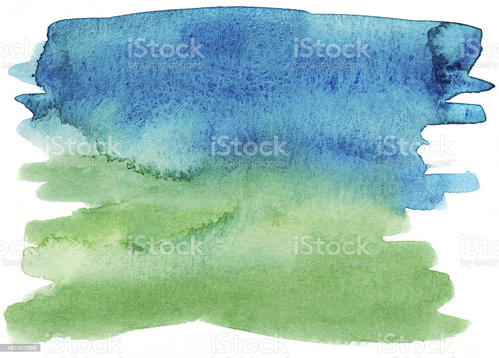 Blue and green background royalty-free stock photo