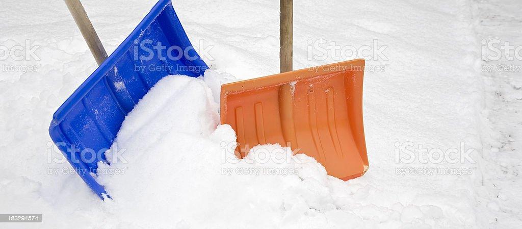 blue and orange stock photo