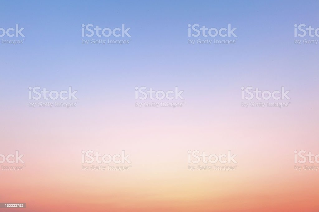 Blue and red abstract sky  background royalty-free stock photo