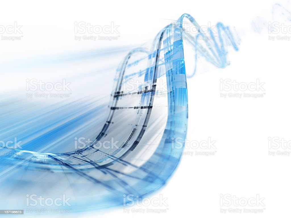 Blue and white abstract background stock photo