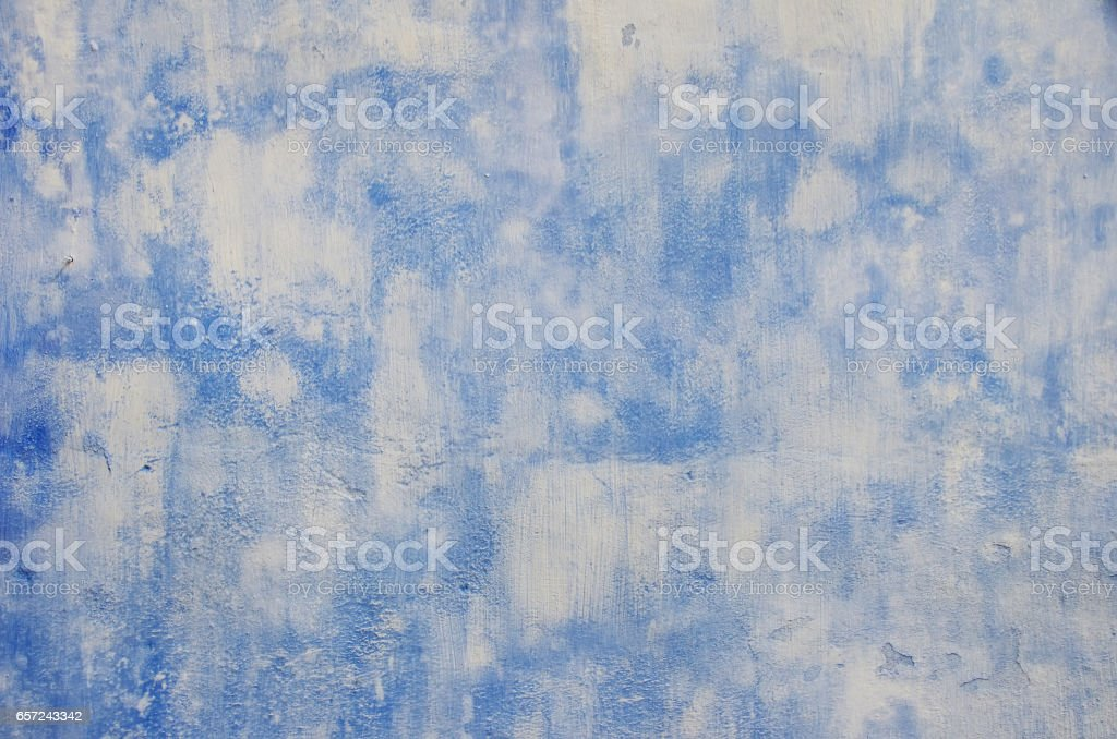 blue and withe wall  background stock photo