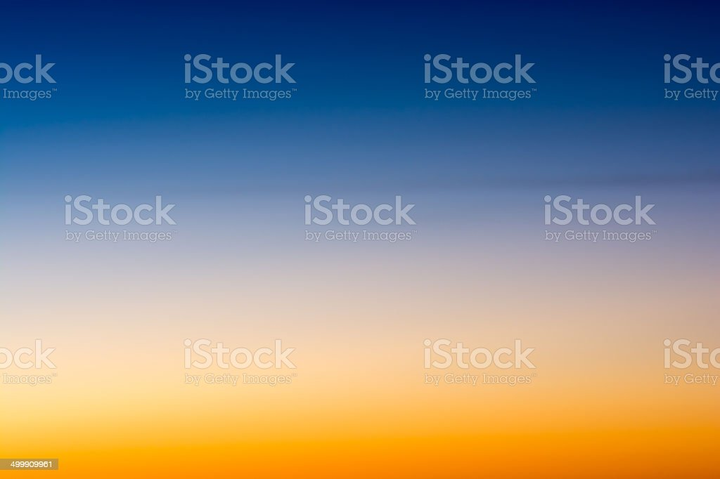 blue and yellow sky background stock photo